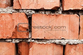 Brick wall, detail