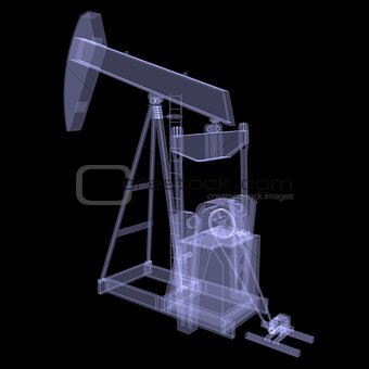 Oil pump. X-ray