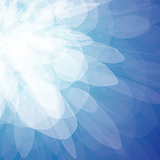 Vector abstract background - blue sparks