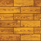 Seamless vector texture - wooden floor