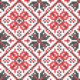 Ukrainian seamless vector texture
