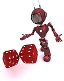 Android rolling dice