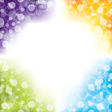 Colorful abstract background design with four colors