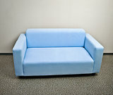 Blue sofa furniture