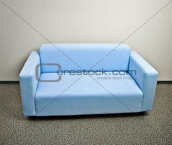 Blue sofa furniture