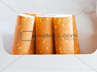 cigarettes in cigarette pack