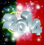 2014 Portugal flag