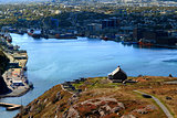 Queen?s Artillery Battery on Signal Hill St. John?s Newfoundland