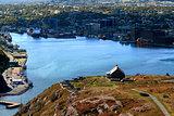 Queen?s Artillery Battery on Signal Hill St. John?s Newfoundland