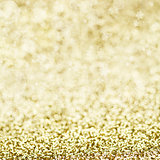 Sparkly Golden Background