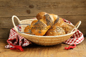 assortment bread