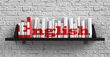 English. Education Concept.