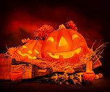 Halloween still life