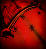 Abstract scary background
