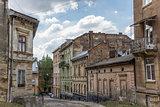Old run down quarter of Lviv