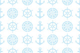 nautical seamless pattern for fabric