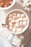cocoa with mini marshmallows
