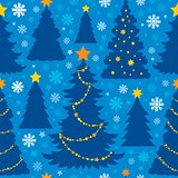 Christmas seamless background 6