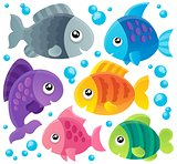 Fish theme collection 1