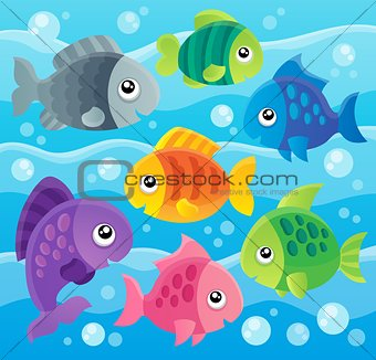 Fish theme image 7