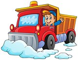 Snow plough theme image 1