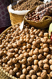 Nuts on a market stall