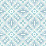 Geometric floral pattern in retro style.