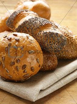 assortment bread