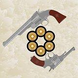 Revolvers and revolver ammunition