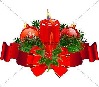 Christmas Candle design