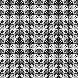 Design seamless monochrome pattern