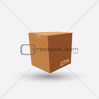 cardboard box carton container