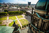 Lustgarten from Berlin Cathedral