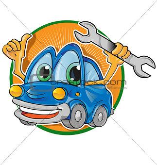 car service cartoon