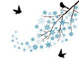 snow branch