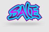 sale graffiti