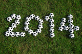 Message for 2014 Made with Football Soccer Balls