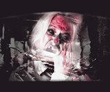 Horror fast food. Drive thru zombie apocalypse