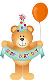 Teddy Bear Happy Birthday