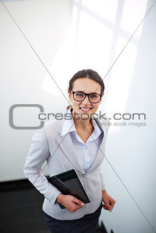 Smart businesswoman