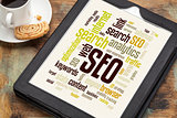 SEO word or tag cloud