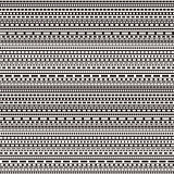 vector black and white dashed lines seamless pattern