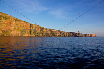 Cliffs on Orkney Islands