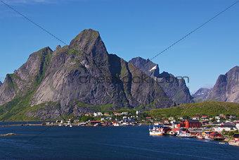 Fishing Village on Lofoten