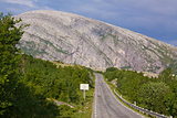 Norwegian Atlantic Tourist Road