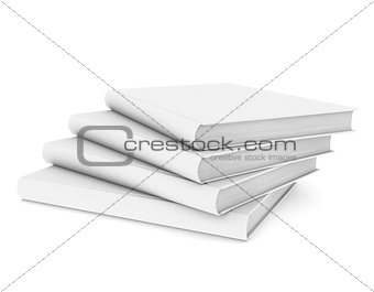 Four white book