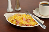 Ham and au gratin potatoes