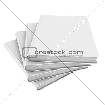 Four white book