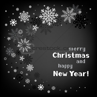 christmas black swirl background