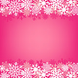pink snow background